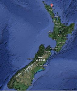 people of the sea NZ Map