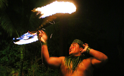 Hale Motu'apuaka at the Polynesian Cultural Center