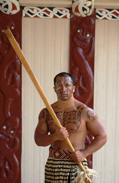 Much of traditional Maori upbringing revolved around games and military drills