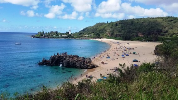 Are you ready for Waimea Bay? You'd better be up on your skills to conquer this one!