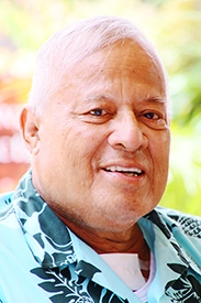 Patoa Benioni, one of the original Polynesian Cultural Center employees