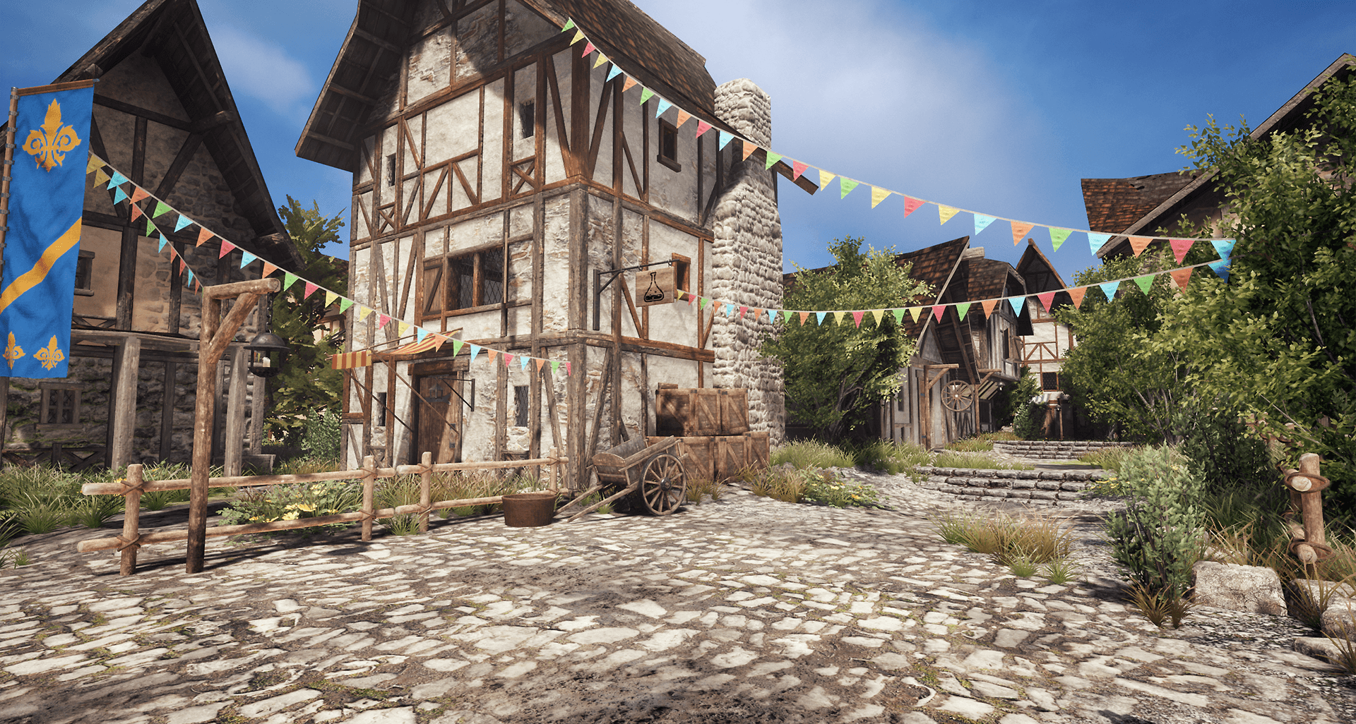 Medieval Village Unreal  Unity Product