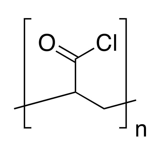 Poly(acryloyl chloride), 25% soln. in dioxane