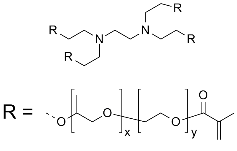 [PEO(10700)-b-PPO(4500)]4-ethylenediamine tetramethacrylate