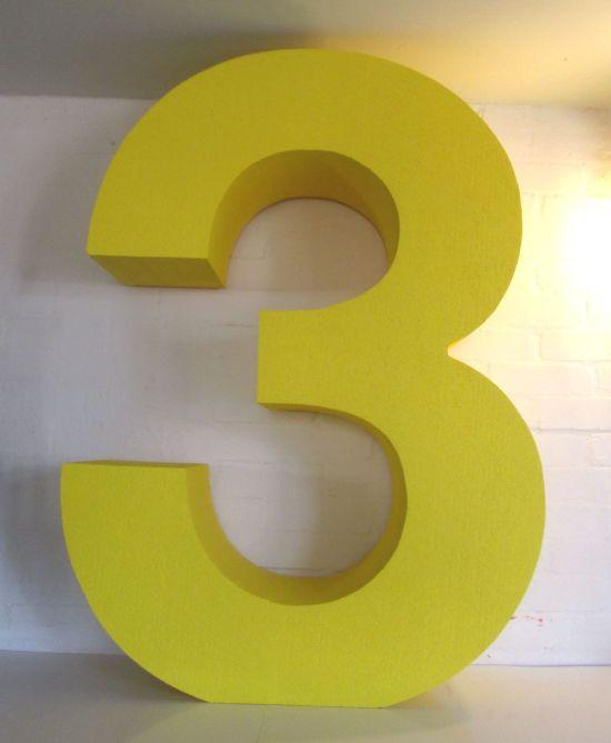 big-yellow-number-3