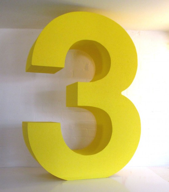 3d yellow 2 polystyrene letters big 3d numbers polystyrene letters and logos 934