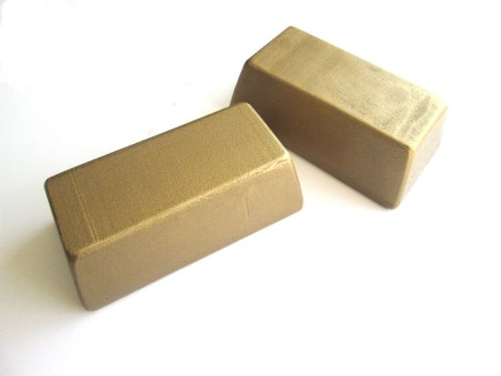 gold-bars-painted-styrofoam-interior
