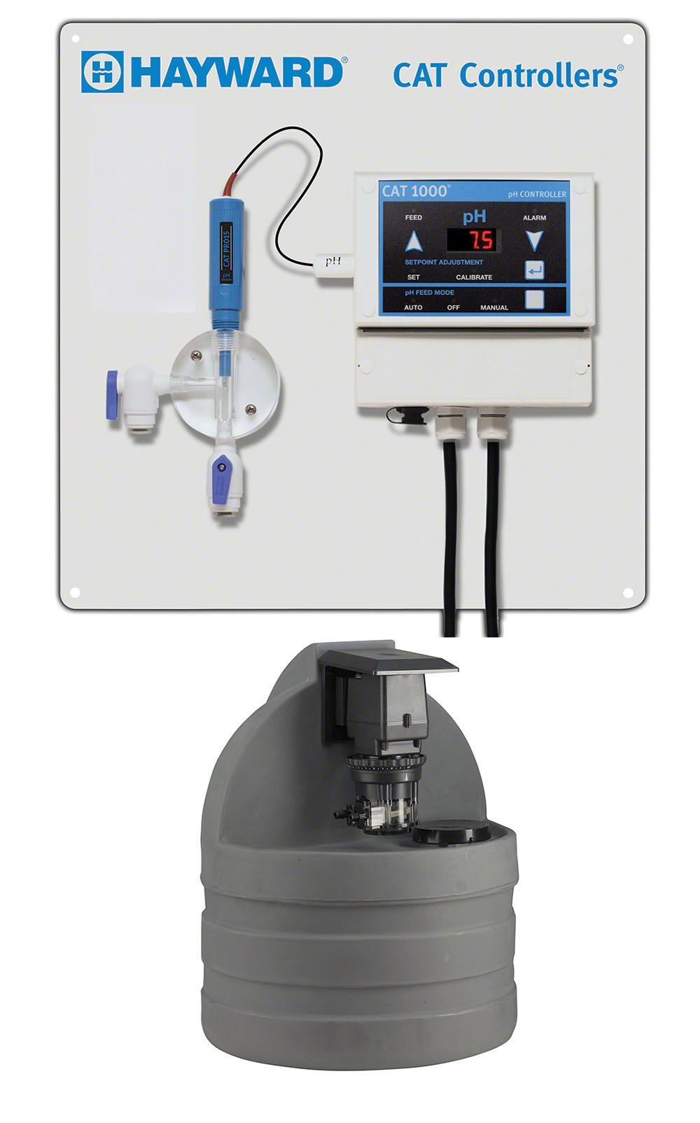 Hayward CAT 1000 pH controller w Pump and Tank Combo