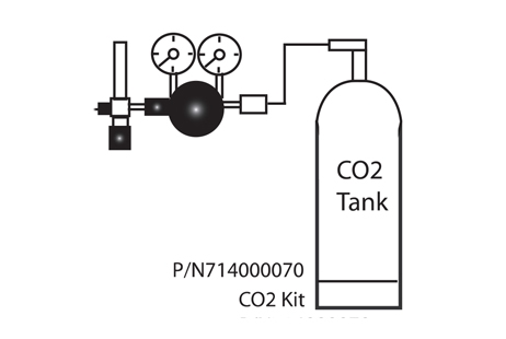 Pentair IntelliChem CO2 Kit w/Diffuser, Solenoid, and