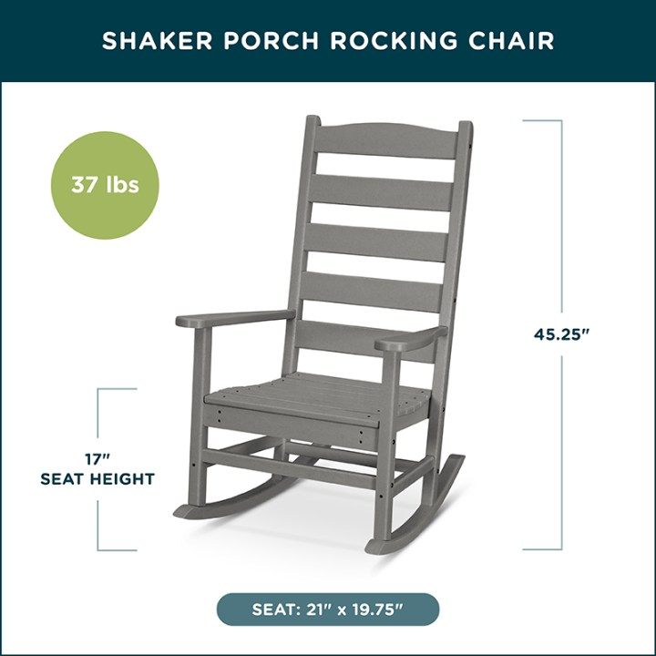 Shaker Porch Rocking Chair