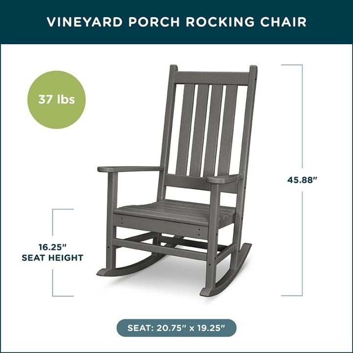 Vineyard Porch Rocking Chair