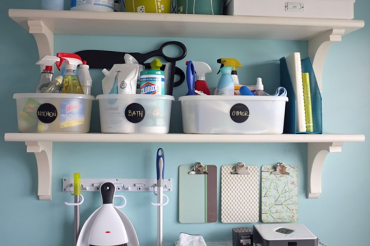 Teal & Lime Cleaning Command Center