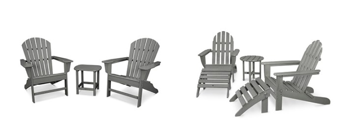 South Beach Adirondack Set - Classic Adirondack Set