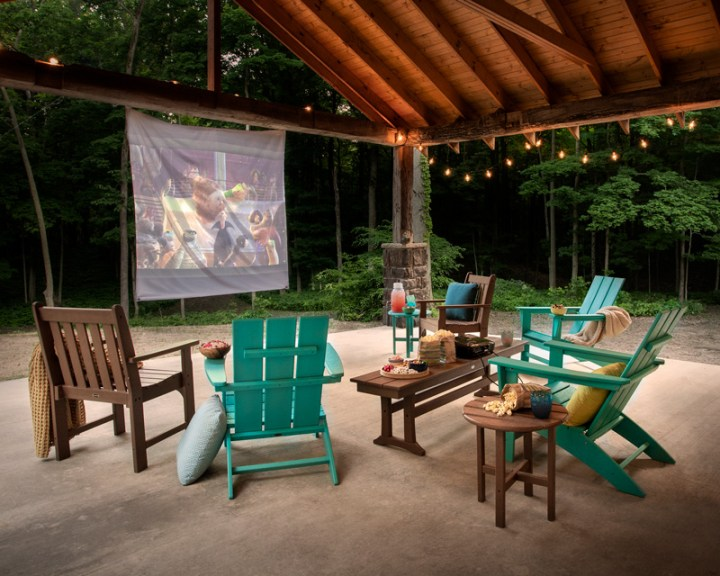 Planning an Outdoor Home Theater