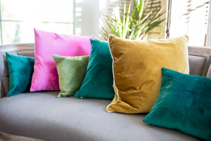 Jewel Tone Pillows