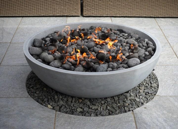 Concrete Basin Fire Pit