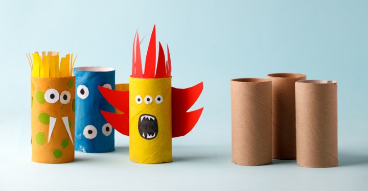 toilet paper roll recycled craft