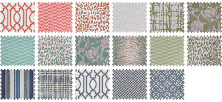 Shayla Copas Fabric Collection by POLYWOOD