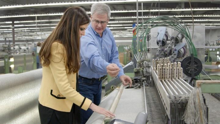 Revolution Performace Fabrics manufacturing tour