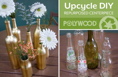 DIY-How-to-Turn-Recycled-Glass-Bottles-Into-A-Beautiful-Centerpiece-POLYWOOD-Blog