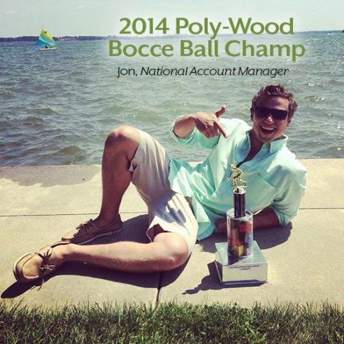 Jon-POLYWOOD-Blog-Bocce-Ball-Tournament-Champion-2014