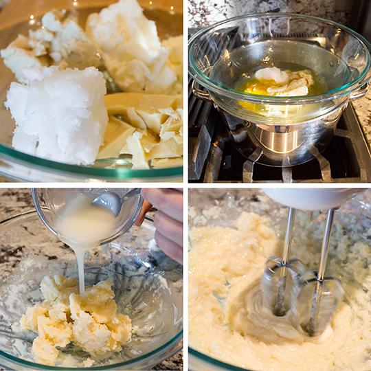body-butter-process