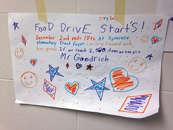 Food-Drive-Sign-SyracuseElementary600