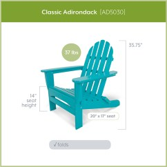 Polywood Classic Adirondack Chair Folding Loveseat Lawn Comparing Styles Blog Vice President With