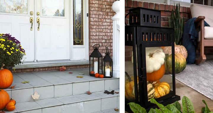 Fall Lantern Decor