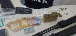 OPERAÇÃO CONJUNTA DA POLÍCIA CIVIL E POLICIA MILITAR, RESULTA EM GRANDE APREENSÃO DE DROGAS.