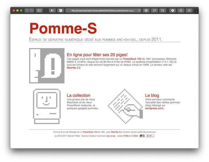 Pomme-S v1.0