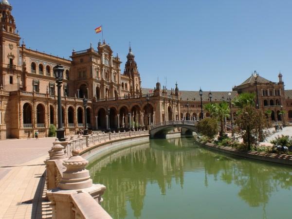 Plaza De Espana In Seville Breathtaking Bit Of