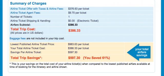 Priceline Flight Booking