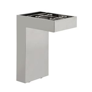 es pata escuadra abs aluminio mate accesorios patas mueble en leg corner abs mat aluminum legs furniture accesories fr pied equerre abs