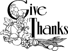 Pomona Bible Church » Thanksgiving Service and Harvest Dinner