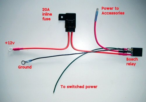 Hot Rod Relay Wiring Diagram