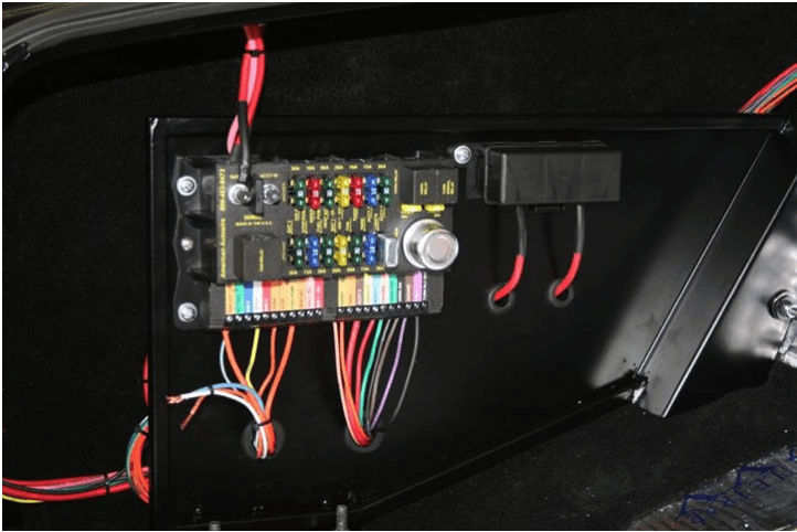 hot rod wiring panels all wiring diagram Universal Turn Signal Wiring Diagram