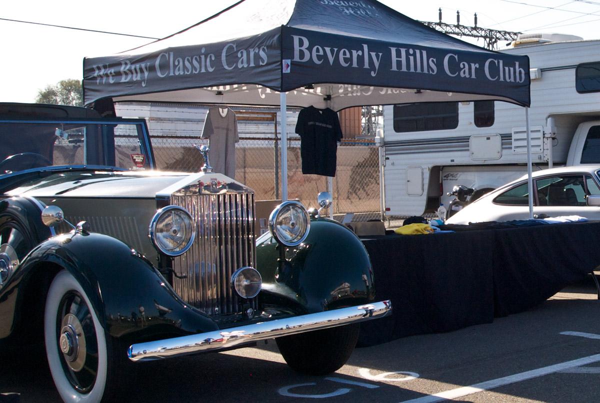 The Beverly Hills Car Club Pomona Swap Meet