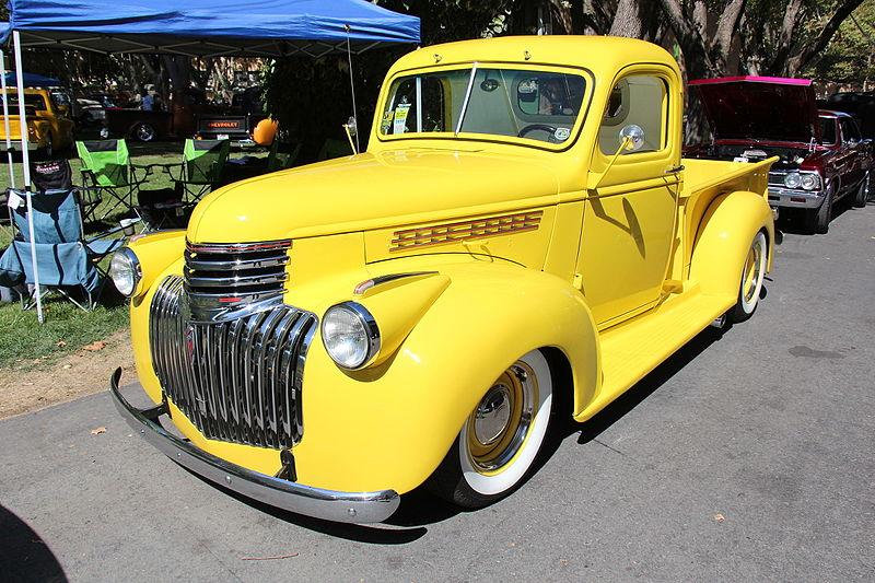 1942 Chevrolet Pickup (photo courtesy of Sicnag)