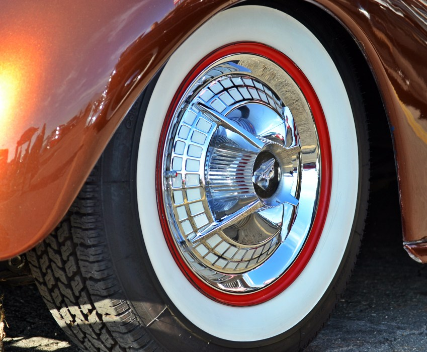 Whitewall Tire and Wheel