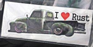 I Love Rust Decal