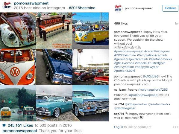Instagram Top 9 Pics in 2016