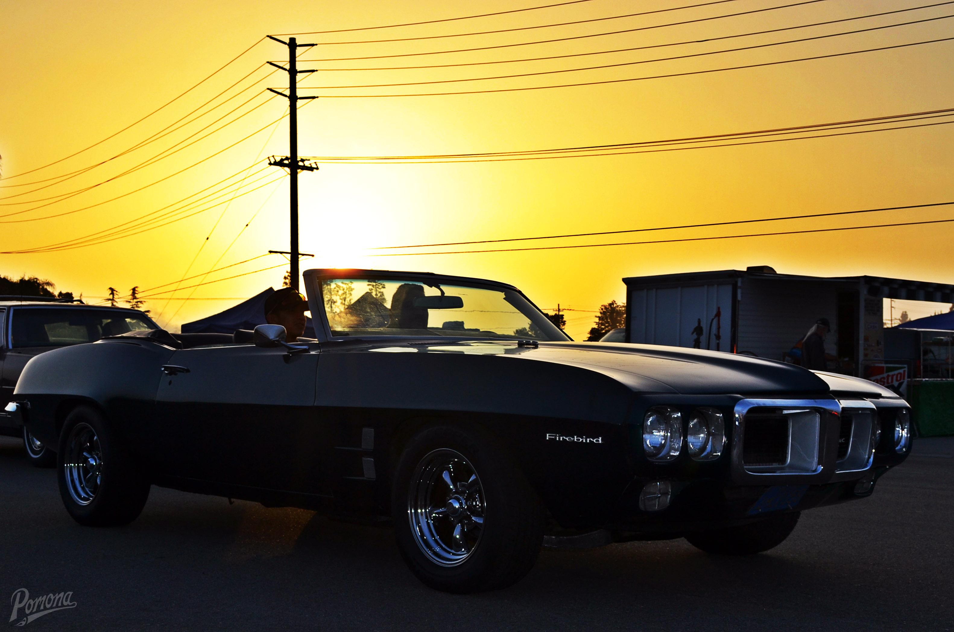 Classic Pontiac Firebird Convertible