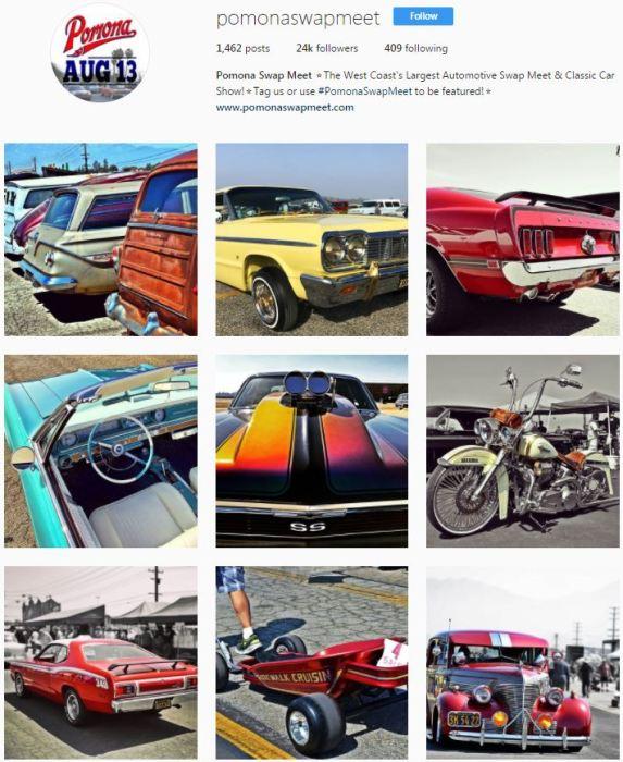 Pomona Swap Meet Instagram
