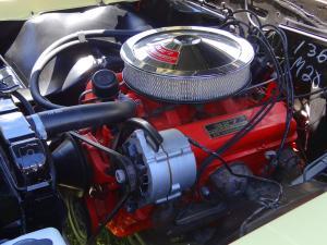 327 Turbo Engine