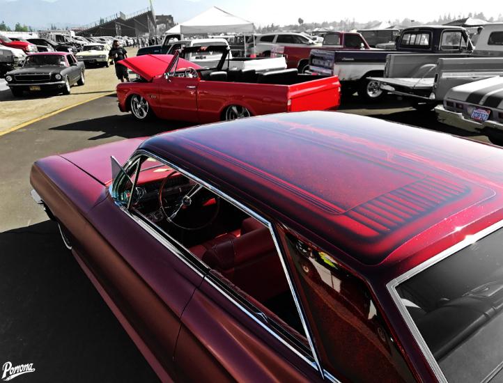 The Car Corral at the Pomona Swap Meet