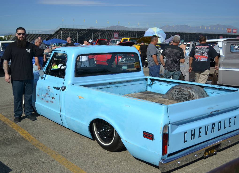 Dale Stevenson with his 1968 Chevy C10 Truck