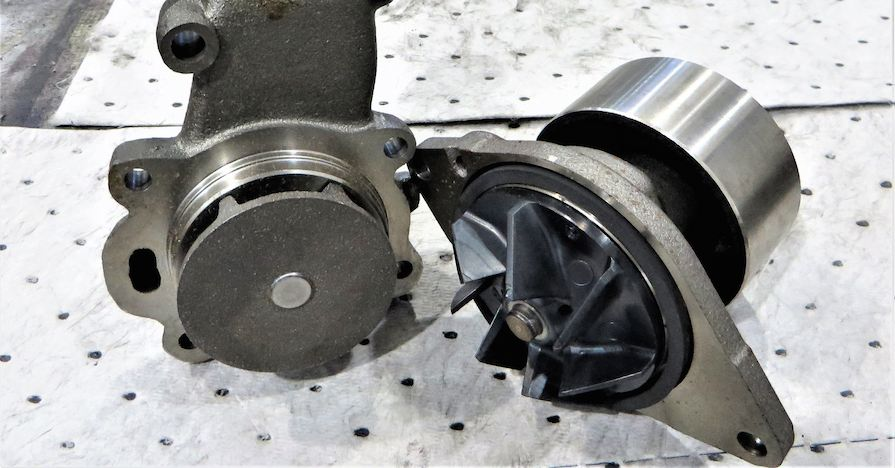 Water Pump Blair Lampe on 1991 Dodge Dakota Water Leak