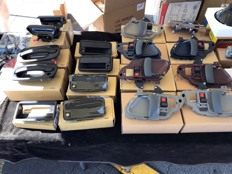 BecauseTruck: Perea Truck Accessories & Body Parts | Pomona Swap Meet