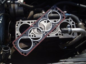 Head Gasket on Block